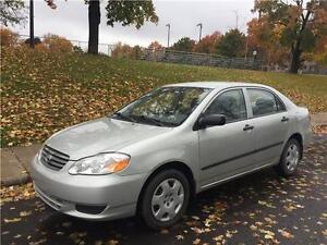 2003 TOYOTA COROLLA  , AUTOMATIQUE , 129.000 KM , AIR CLIMATISE