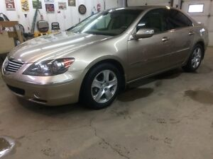 2005 Acura RL All Wheel Drive. Inspected. $8500.