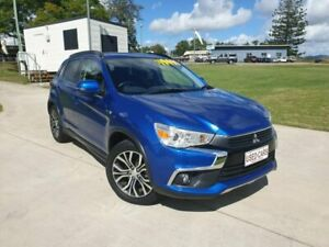2017 Mitsubishi ASX XC MY17 LS 2WD Blue 6 Speed Constant Variable Wagon Gympie Gympie Area Preview