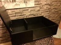 brand new 3ftx2ft tortoise table in black