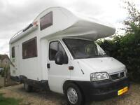 2005 JOINT J357 FIVE BERTH, VERY LOW MILEAGE MOTORHOME FOR SALE