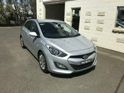 2013 Hyundai i30 GD Active Silver 6 Speed Automatic Hatchback Dubbo Dubbo Area Preview