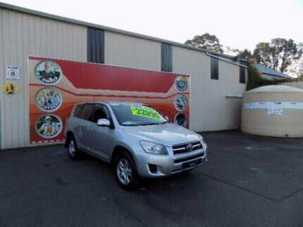 2012 Toyota RAV4 GSA33R 08 Upgrade CV6 Silver 5 Speed Automatic Wagon West Gosford Gosford Area Preview