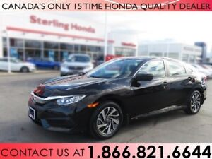 2016 Honda Civic Sedan EX | ALL WEATHER MATS | HOOD DEFLECTOR |