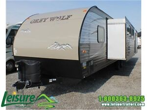 2016 Forest River Cherokee Grey Wolf 29DSFB Travel Trailer Windsor Region Ontario image 2