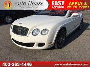 2010 BENTLEY CONTINENTAL GT GTC SPEED V12 CONVERTIBLE NAVI BCAM
