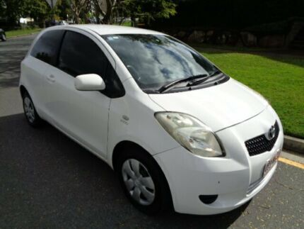 2008 Toyota Yaris NCP90R 08 Upgrade YR White 4 Speed Automatic Hatchback Chermside Brisbane North East Preview