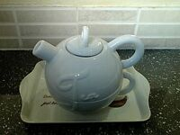 Tea for one teapot and large cup