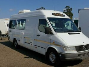1998 312D Mercedes - Benz Sprinter White Campervan Withcott Lockyer Valley Preview