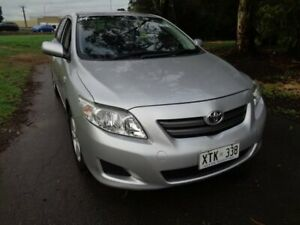 2008 Toyota Corolla Silver Automatic Sedan Mile End South West Torrens Area Preview