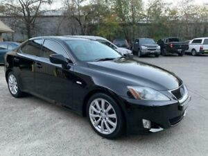 2007 Lexus IS250 GSE20R Sports Luxury Black 6 Speed Auto Sequential Sedan Lisarow Gosford Area Preview