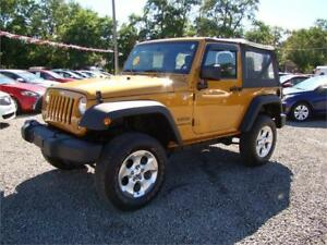 2014 Jeep Wrangler Sport with Air Manual Transmission