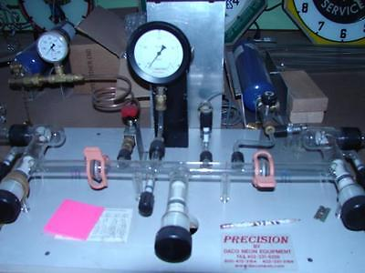 Precision neon plant by Daco,complete,working.. lots of glass tubing top of line