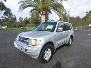 2000 Mitsubishi Pajero NM Exceed Silver 5 Speed Automatic Wagon Cabramatta Fairfield Area Preview