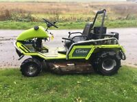 GRILLO CLIMBER 910 BANK MOWER SHOWING 260 HOURS