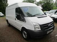2010 Ford Transit 2.4TDCi NO VAT 115PS 350 Med Roof LWB 70,000 MILES GUARANTEED