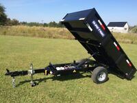 4.5 x 8 Handy Dump trailer Homeowner Style From Sure Trac