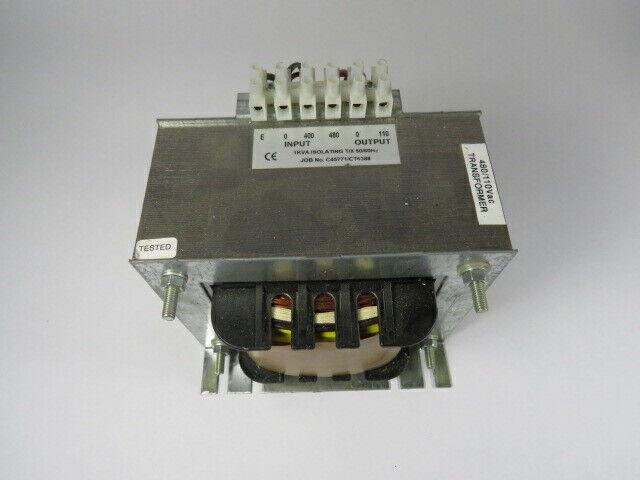 Generic Transformer 1KVA Pri. 400/480V Sec. 110V 50/60Hz 1Ph  USED