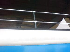 VW KOMBI BUS SPLIT SCREEN Top Quality Jail Bars Set For Rear Window Type2 SET