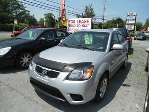 2010 KIA RIO 4 DR AUTO EXTRA CLEAN ONLY $ 3950 INC. WARRANTY!