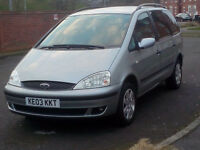 FOR SALE 7 SEATER FORD GALAXY TDI 130PS AUTO EXCELLENT CONDITION!!