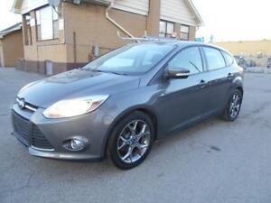 2013 FORD Focus SE Hatchback 2.0L Automatic  81,000KMs