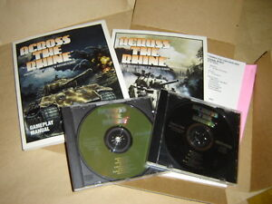"""""""Microprose"""" Game Disks """"ACROSS THE RHINE"""""""