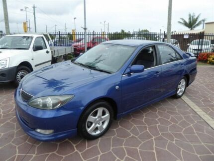 2004 Toyota Camry ACV36R Sportivo Blue 4 Speed Automatic Sedan Brendale Pine Rivers Area Preview