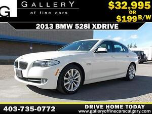 2013 BMW 528i xDrive $199 bi-weekly APPLY NOW DRIVE NOW