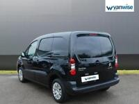 2015 Citroen Berlingo 1.6 HDi 625Kg Enterprise 75ps Diesel black Manual