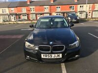 BMW 3 series 1.8 petrol Black 5Door saloon