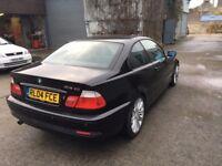 BMW 318 Coupe 2004 Black