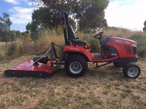 MASSEY FERGUSON TRACTOR WITH SILVAN SLASHER Aldinga Morphett Vale Area Preview