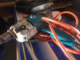 Drills: Black and Decker D420 and Hoover Engineer 2 Speed