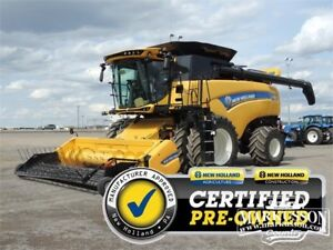 NH CX8.80 Elevation Combine - 401HP, LED's, Duals, 471hrs sep.