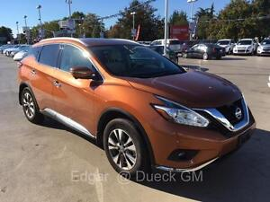 2015 NISSAN MURANO SL AWD leather low km's