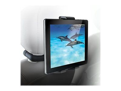 Vehicle Mount System - Audiovox Universal Vehicle Mount System for Tablets with Bluetooth Headphones
