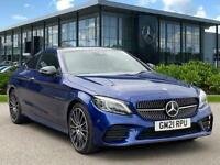 2021 Mercedes-Benz C Class C220D Amg Line Night Ed Premium Plus 2Dr 9G-Tronic Au