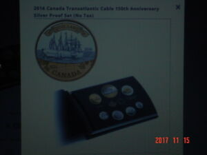 2016 CANADA PROOF DOUBLE DOLLAR 7 COIN SET.