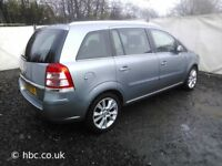 Vauxhall Zafira 1.9cdti 16v 2008 For Breaking
