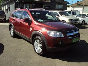 2009 Holden Captiva CG MY09 CX (4x4) Maroon 5 Speed Automatic Wagon Punchbowl Canterbury Area Preview