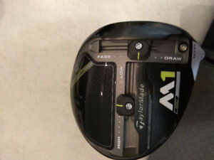 Brandnew TaylorMade M1 2017 version driver for sale or trade