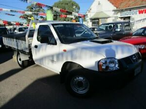 2010 Nissan Navara D22 MY2010 DX 4x2 White 5 Speed Manual Cab Chassis Gepps Cross Port Adelaide Area Preview