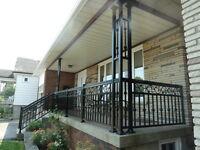 Wood, Aluminum, Iron Fences, Interior and exterior Railings