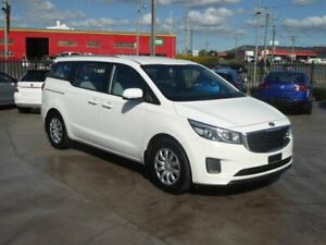 2017 Kia Carnival YP MY18 S White 6 Speed Automatic Wagon Brendale Pine Rivers Area Preview