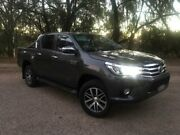 2017 Toyota Hilux GUN126R MY17 SR5 (4x4) Graphite 6 Speed Automatic Dual Cab Utility Coonamble Coonamble Area Preview