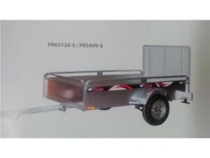 2017 K Trail 5' x 8'  GALVANIZED TRAILER   True size 56'' x 99''