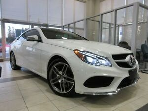 2016 Mercedes-Benz E-Class E550 ROOF, LEATHER, AMG ALLOYS!