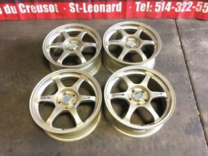 SSR TYPE-C 17 INCH MAGS FOR SALE 5X114.3 / 17X7.5 OFFSET 40