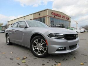 2016 Dodge Charger ALL WHEEL DRIVE, NAV, ROOF, 26K!